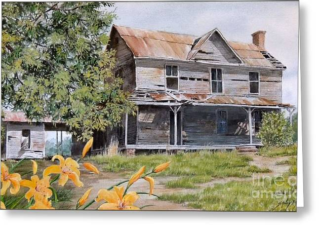 Days Gone By...sold Greeting Card