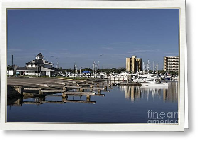 Daytona Boat Launch Greeting Card by Deborah Benoit