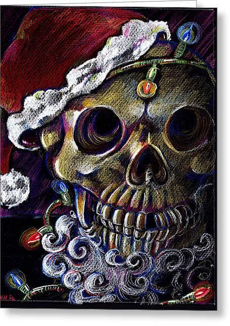 Dead Christmas Greeting Card