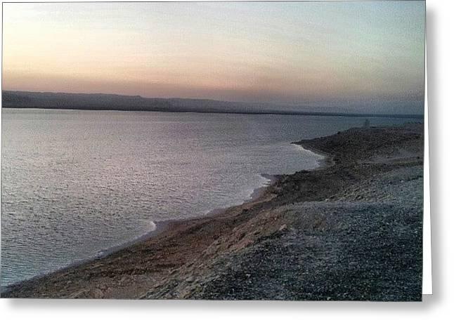 #deadsea #sea #water #jo #jordan #amman Greeting Card by Abdelrahman Alawwad