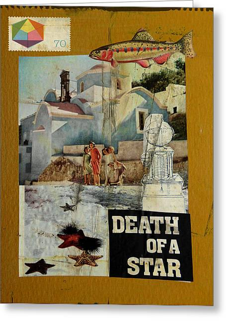 Death Of A Star Greeting Card