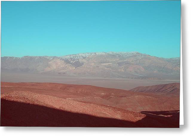 Death Valley View 3 Greeting Card by Naxart Studio
