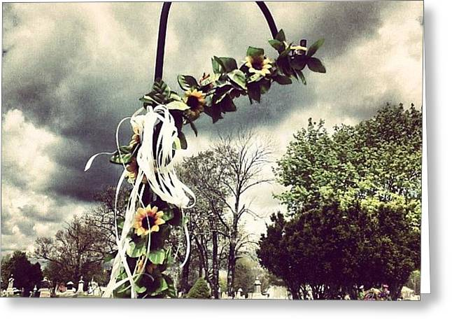#decorative #decoration #cemetery Greeting Card by Kayla St Pierre