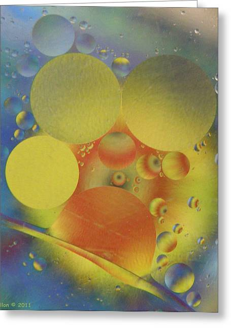 Deep Into Color Greeting Card