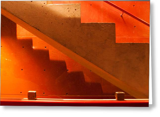 Deep Stairs Greeting Card by Dale Davis