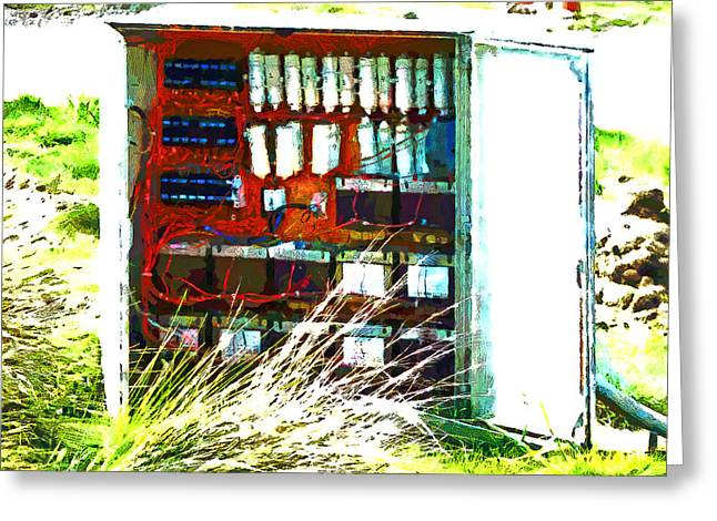 Defused Box Greeting Card by Steve Taylor