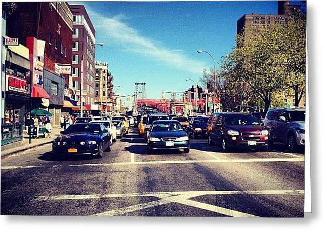 Delancey Street - Lower East Side - New York City Greeting Card