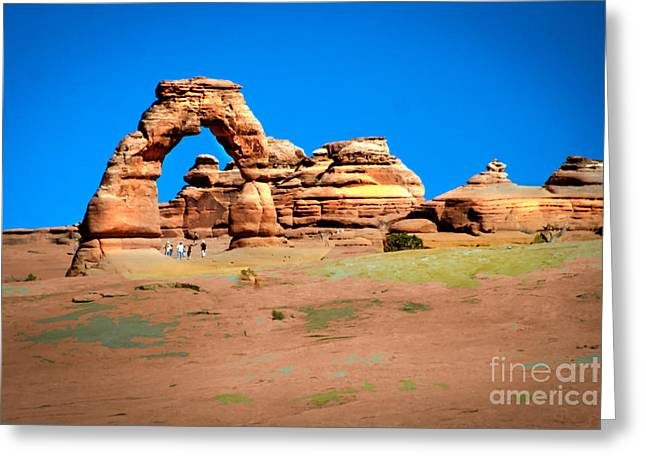 Delicate Arch Greeting Card by Robert Bales