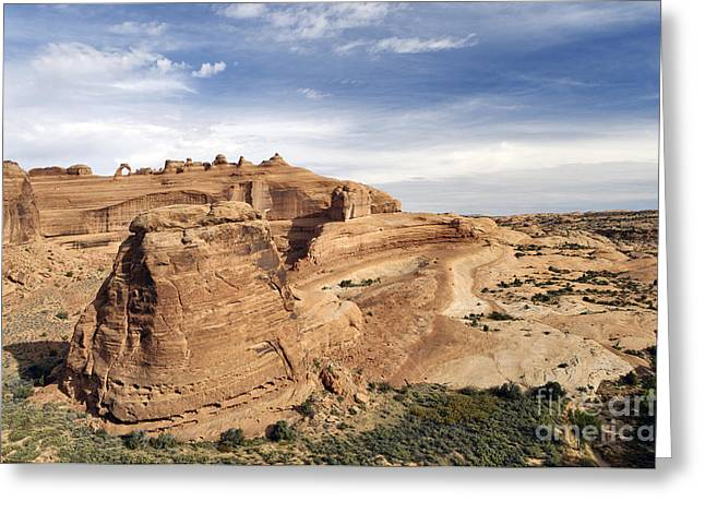 Delicate Arch Viewpoint - D004091 Greeting Card by Daniel Dempster