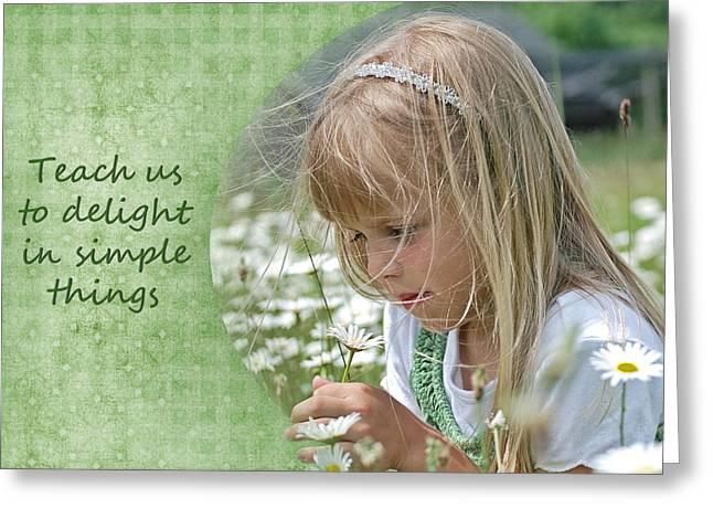 Delightful Daisy Greeting Card