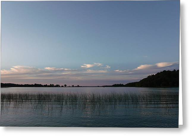 Delightful Dusk Greeting Card by Brian  Maloney