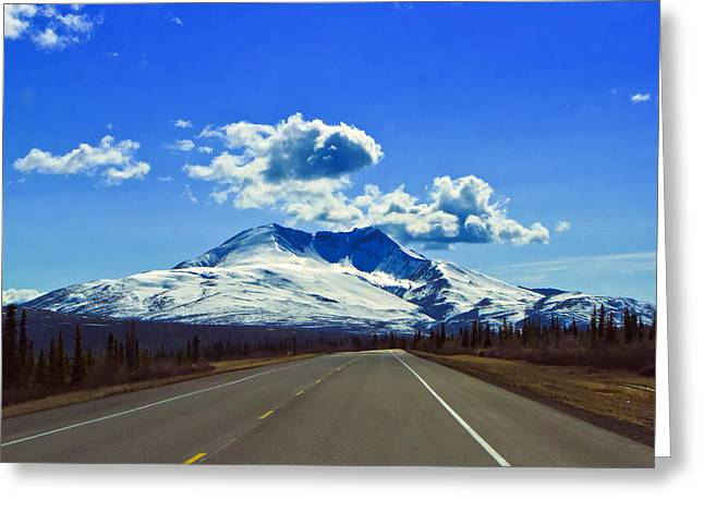 Denali Highway Greeting Card