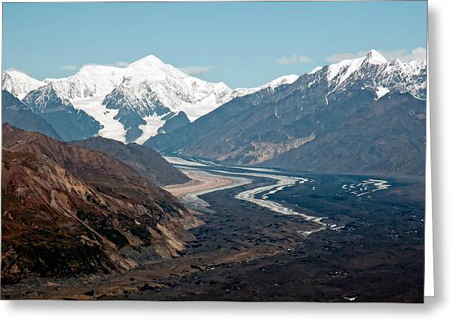 Greeting Card featuring the photograph Denali National Park by Gary Rose