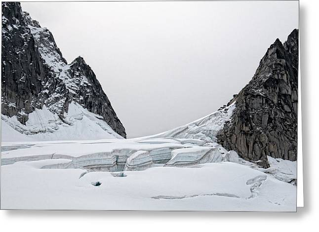 Greeting Card featuring the photograph Denali Park Glacier by Gary Rose