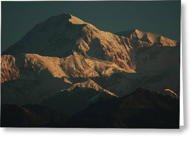 Denali Sunrise Greeting Card