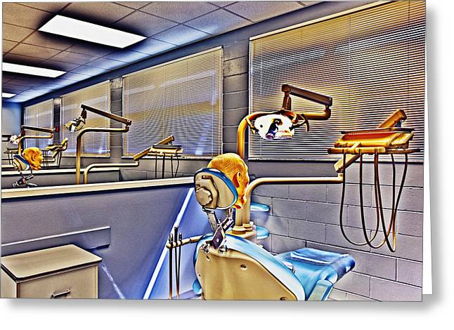 Dental Nightmare Greeting Card by Skip Nall