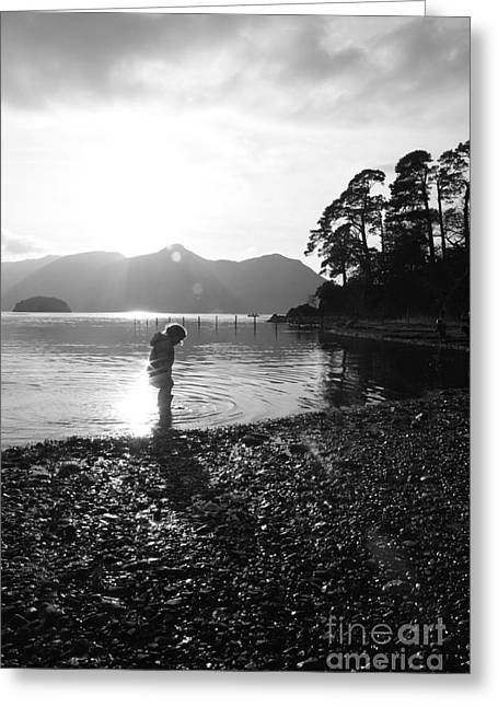Greeting Card featuring the photograph Derwent by Linsey Williams