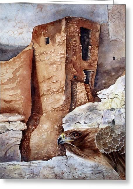 Desert Dwellers Greeting Card