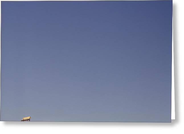 Desert Hilltop Greeting Card by Eddy Joaquim