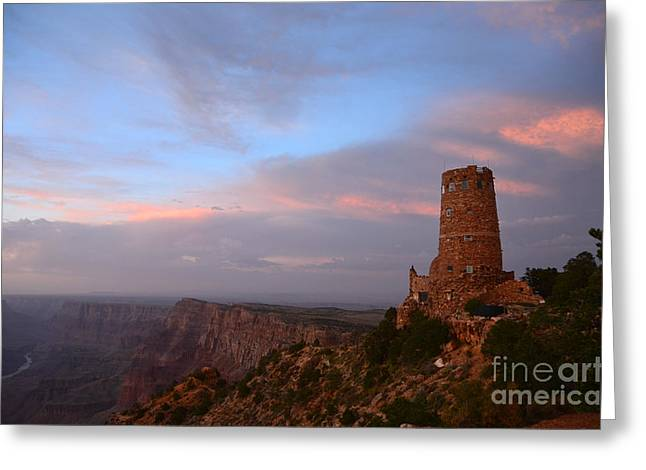 Desert View Watchtower Greeting Card