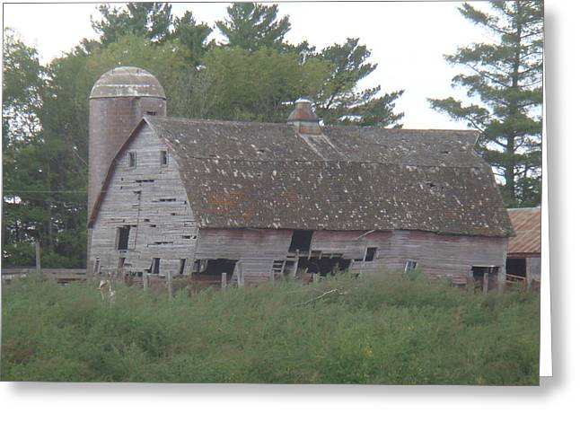 Deserted Barn Greeting Card