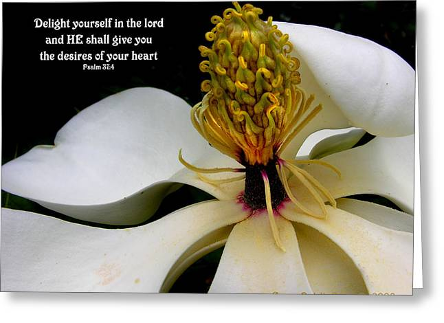 Desires Of Your Heart Greeting Card