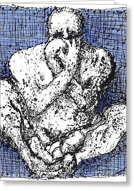Despair Greeting Card by Vincent Randlett III