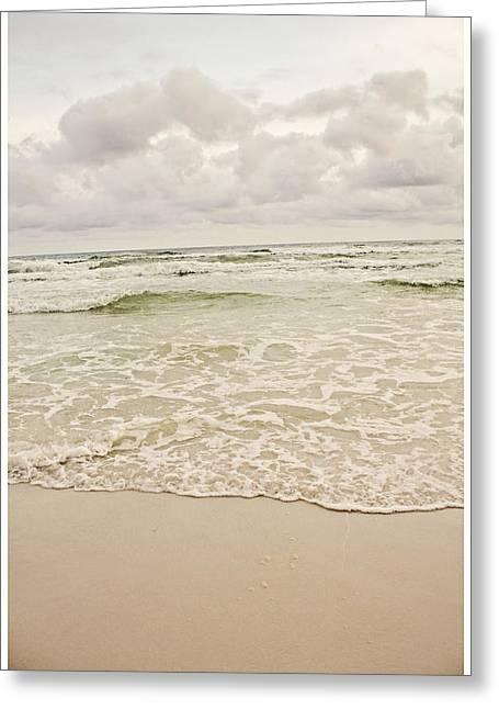 Destin Beach Greeting Card by Tiffany Zumbrun