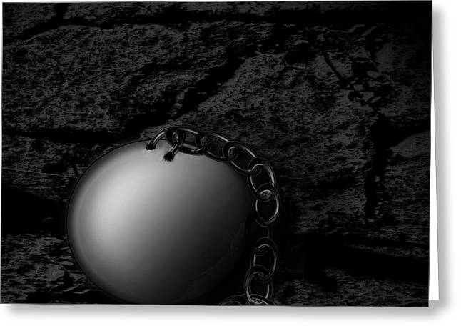 Detached Greeting Card by Joe Russell