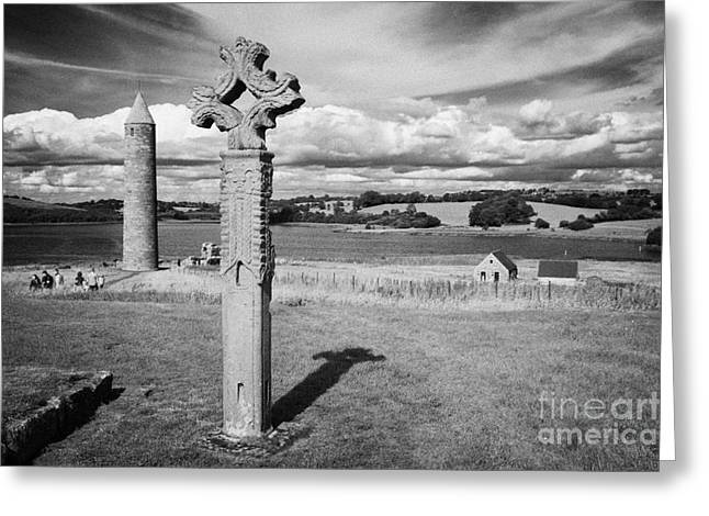 Devenish Island Ireland Greeting Card