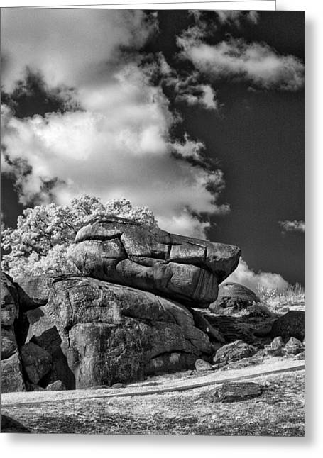 Devil's Den - 33 Greeting Card by Paul W Faust -  Impressions of Light