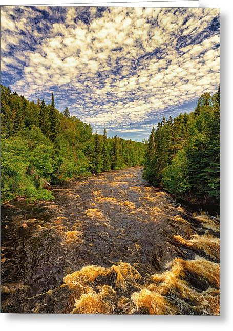 Devil's Kettle - Grand Marais Greeting Card