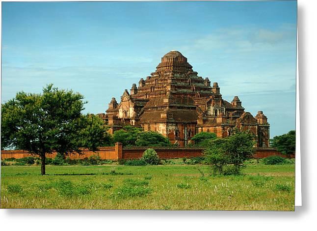 Dhammayangyi Pahto Temple Greeting Card