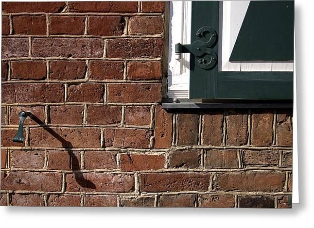 Diagonal Shadow Greeting Card by RicardMN Photography
