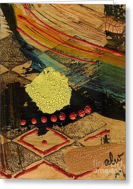 Diamond Sand Storm Greeting Card by Angela L Walker