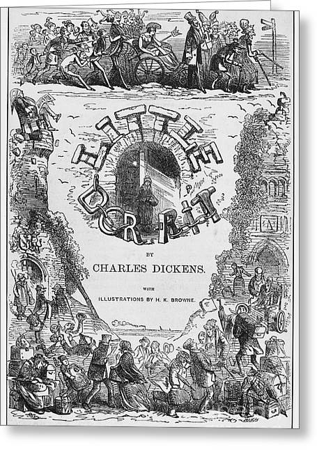 Dickens: Little Dorit Greeting Card by Granger