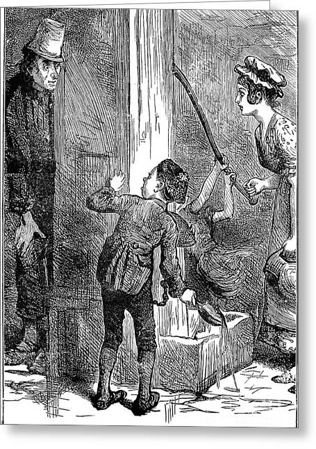 Dickens: Nicholas Nickelby Greeting Card by Granger