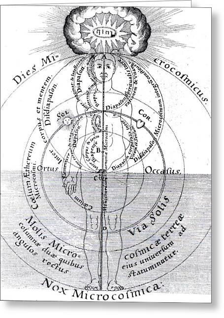 Dies Microcosmicus, Nox Microcosmica Greeting Card by Science Source