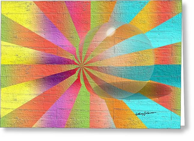 Digital Art 2 Greeting Card by Anthony Caruso