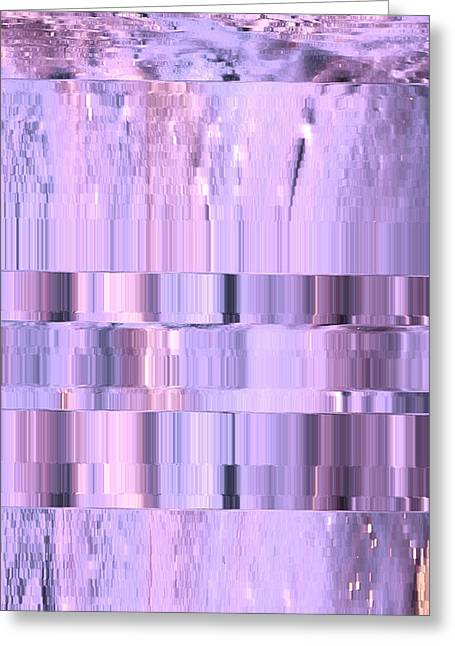 Digitized Purple Greeting Card by Colleen Cannon