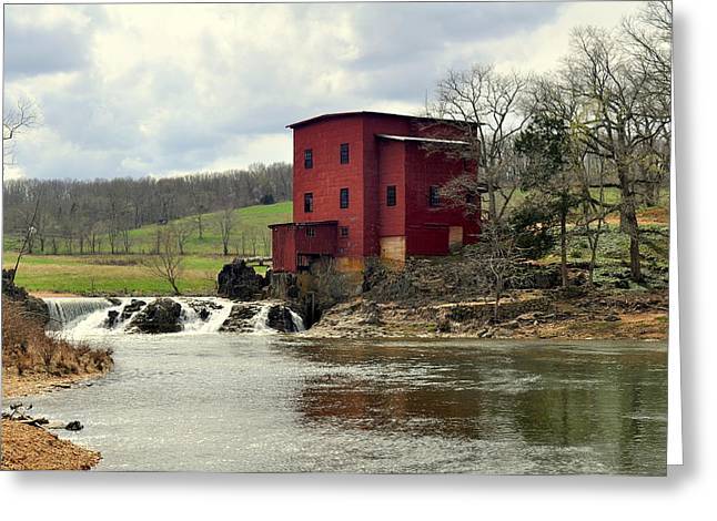 Dillard Mill Greeting Card by Marty Koch