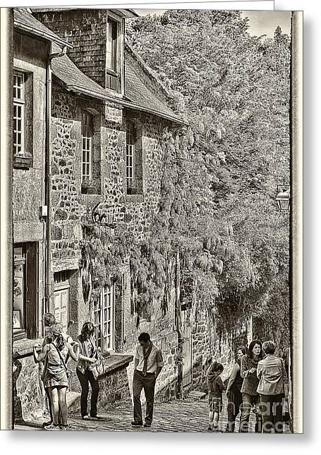 Greeting Card featuring the photograph Dinan Antique II by Jack Torcello