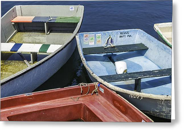 Dinghy Afternoon Greeting Card by Kate Hannon