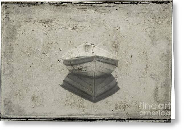 Dinghy Greeting Card by Jim Wright