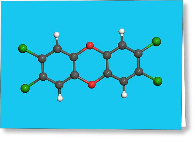 Dioxin Greeting Card by Dr Tim Evans