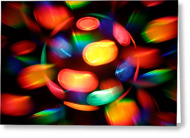 Disco Burst Greeting Card