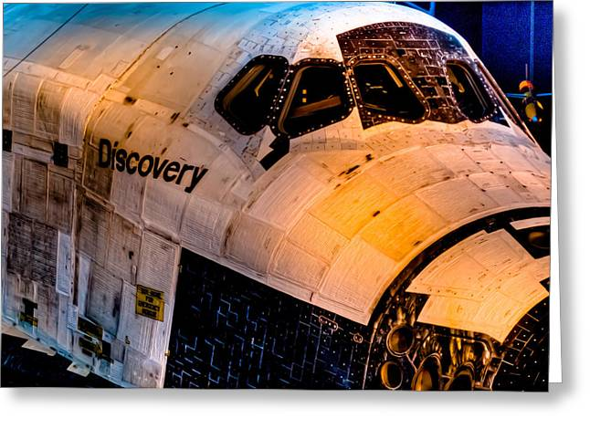Discovery Greeting Card by David Hahn