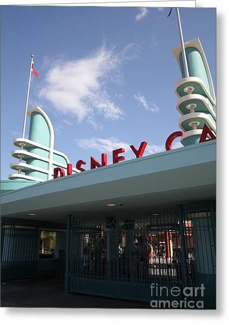 Disney California Adventure - Anaheim California - 5d17527 Greeting Card