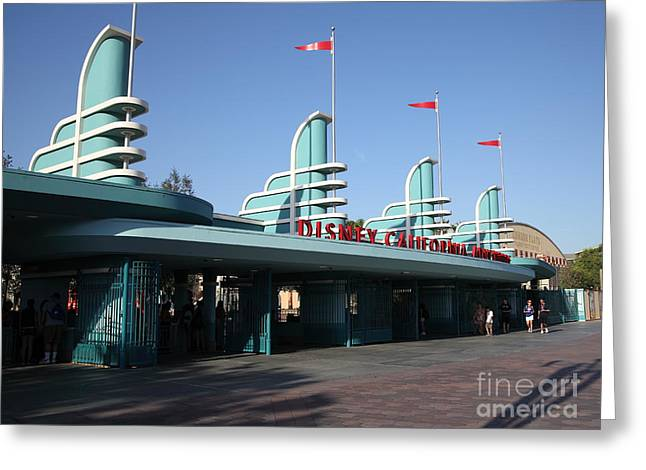 Disney California Adventure - Anaheim California - 5d17537 Greeting Card by Wingsdomain Art and Photography