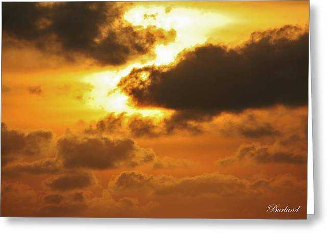 Divine Glory Greeting Card